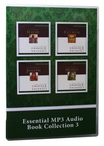 Great Lives From Gods Word: David, Esther, Joseph, Moses (#03 in Essential Mp3 Audio Collection Series)