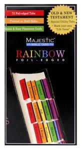 Majestic Bible Tabs Rainbow
