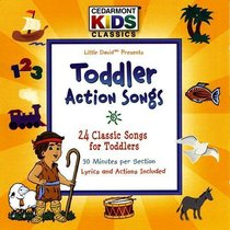 Cedarmont Kids: Toddler Action Songs (Kids Classics Series)