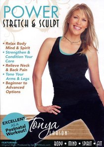 Power Stretch and Sculpt With Tonya Larson (52 Mins)