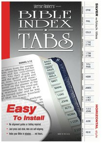 Bible Tabs Verse Finders Silver (Horizontal)