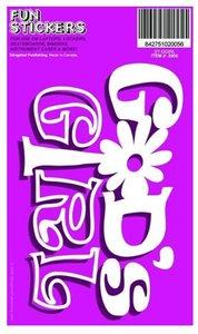 Sticker: Gods Girl