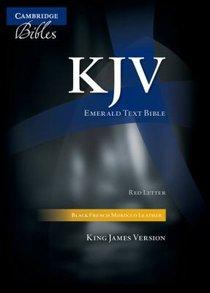 KJV Cambridge Black (Red Letter Edition)