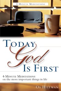 Tgif: Today, God is First
