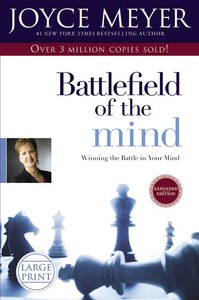 Battlefield of the Mind (Large Print)