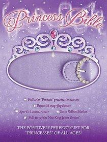 NKJV Princess Bible Lavender With Magnetic Closure