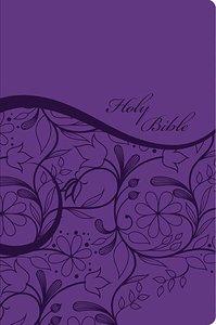 KJV Sisters in Faith Holy Bible Grape (Indexed)