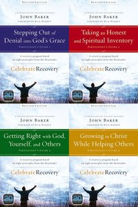 Celebrate Recovery Revised Set (Volume 1-4) (Participants Guide) (Celebrate Recovery Series)