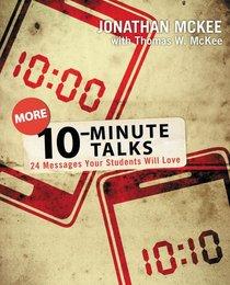 More 10-Minute Talks
