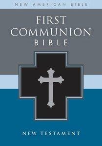 Nab First Communion Bible New Testament Black