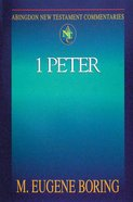 1 Peter (Abingdon New Testament Commentaries Series)