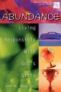 Abundance (20/30 Bible Study For Young Adults Series)