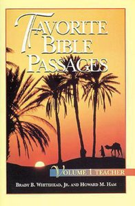 Favorite Bible Passages Volume 1 (Leaders Guide)