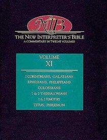 2 Corinthians-Philemon (#11 in New Interpreters Bible Series)