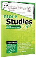 More Studies 2 Go (Reproducible) (Studies 2 Go Series)