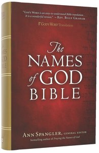 Gods Word Names of God Bible