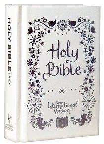 NIV Tiny White Christening Bible