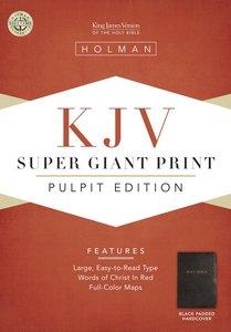 KJV Holman Pulpit Edition (Red Letter Edition)
