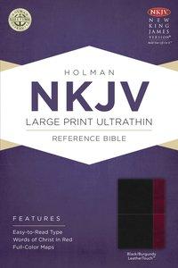 NKJV Large Print Ultrathin Reference Bible Slate Blue