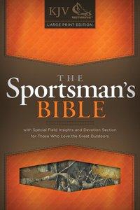 KJV Large Print Sportsmans Bible Mothwing Camouflage