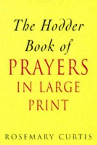 Hodder Book of Prayers (Large Print)