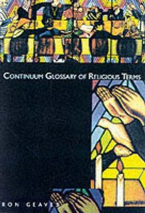 Continuum Glossary of Religious Terms