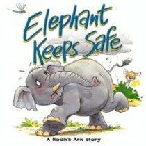 Elephant Keeps Safe (Bible Animal Board Book Series)