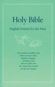 Holy Bible: English Version For the Deaf (2 Vols)