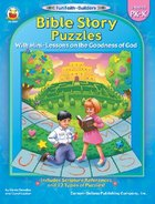 Bible Story Puzzles (Reproducible; Grades Pk-K) (Fun Faith-builders Series)