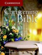 KJV Cambridge Christening White