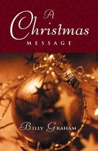 Christmas Message Billy Graham (25 Pack)