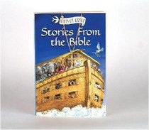 Stories From the Bible (With Gold-tone Cross Charm)