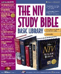 NIV Study Bible Basic Library CDROM Step