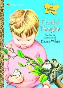 Thankful Thoughts (With Stickers) (Golden Books Series)