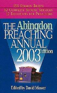 Abingdon Preaching Annual 2004 CDROM Win Mac