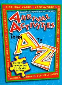 Arrival Activities From a to Z (Reproducible)