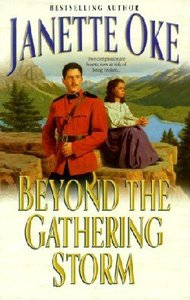 Beyond the Gathering Storm (Large Print) (#05 in Canadian West Series)