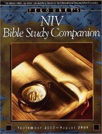 Peloubets NIV Bible Study Companion (Sep03-aug04)