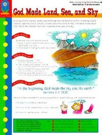 Bible Learning: God Made Land, Sea, and Sky