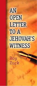 An Open Letter to a Jehovahs Witness (Pack 10)