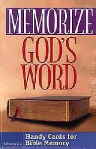 Memorize Gods Word: Advanced 2