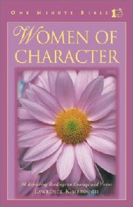 Women of Character (One Minute Bible Series)