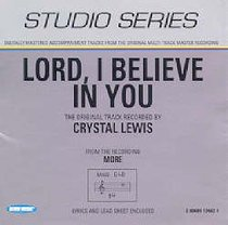 Lord I Believe in You (Accompaniment)