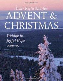 Waiting in Joyful Hope