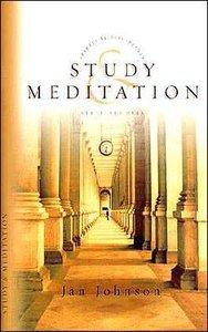 Study and Meditation (Spiritual Disciplines Bible Study Series)