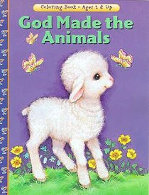 God Made the Animals (Colouring Book)