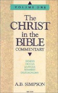 Christ in the Bible #01: Genesis-Deuteronomy