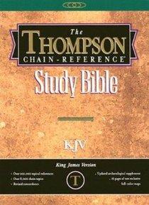 KJV Thompson Chain Reference Handy Size Burgundy