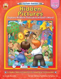 Hidden Pictures (Reproducible; Grades Pk-K) (Fun Faith-builders Series)