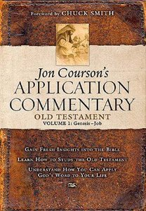 Old Testament 1 - Genesis-Job (Coursons Application Commentary Series)